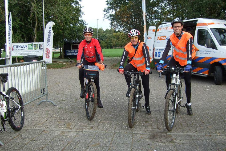 Vrijwilligers en sponsoren Parel van Drenthe bedankt