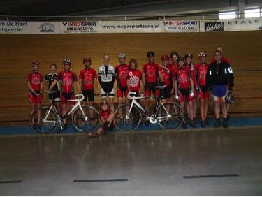 Baanwielrennen in Alkmaar en MTBen in Schoorl