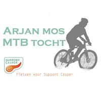 Arjan Mos MTB tocht