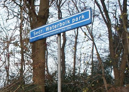Crossbaantje voor de jeugd in Waterbolkpark Havelte